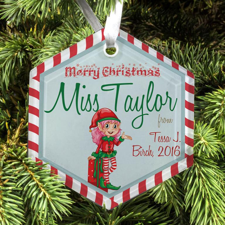 Teachers Gift Christmas Tree Decorations (2019)
